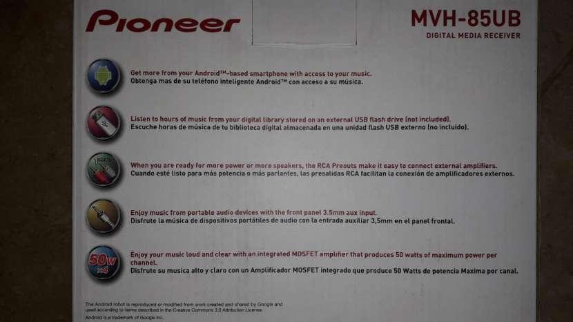 Auto radio Pioneer MVH 85 UV en Oferta!! - 0
