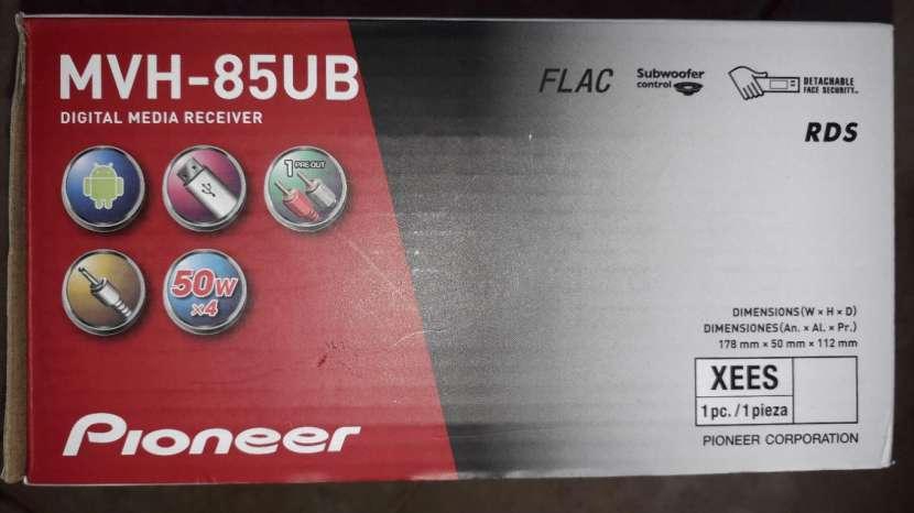 Auto radio Pioneer MVH 85 UV en Oferta!! - 1