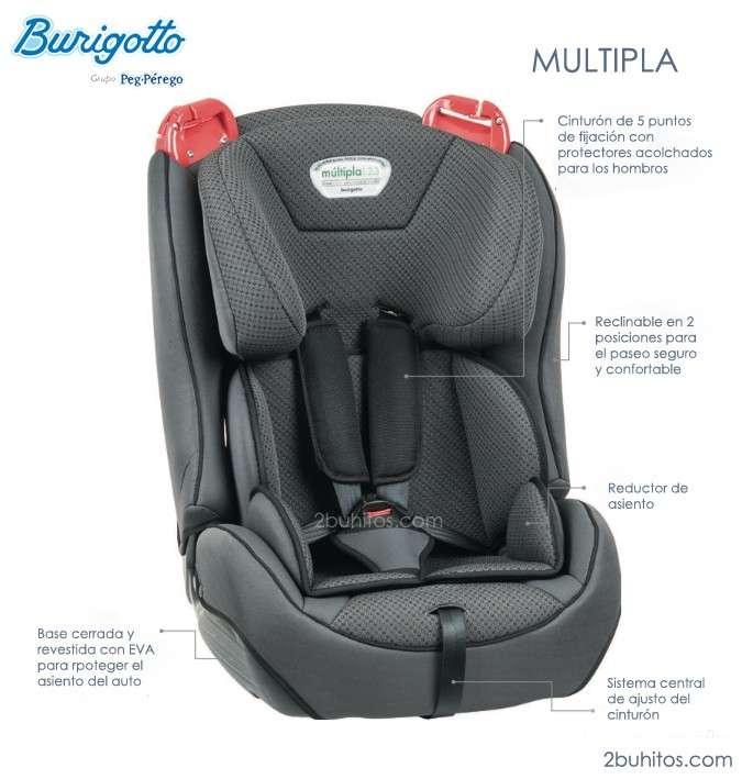 Asientos Burigotto Multipla para niños - 0