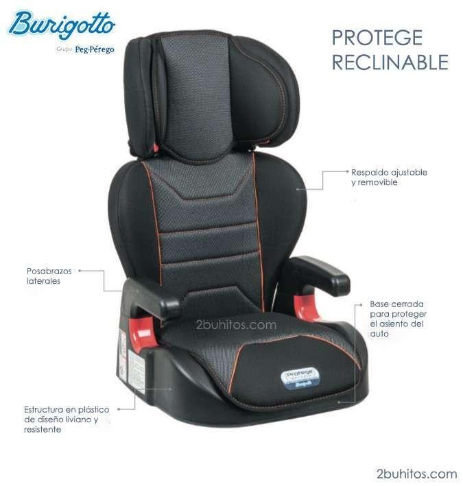 Sillita Burigotto Protegè reclinable para niños - 0