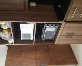 Mueble para microonda y horno electrico