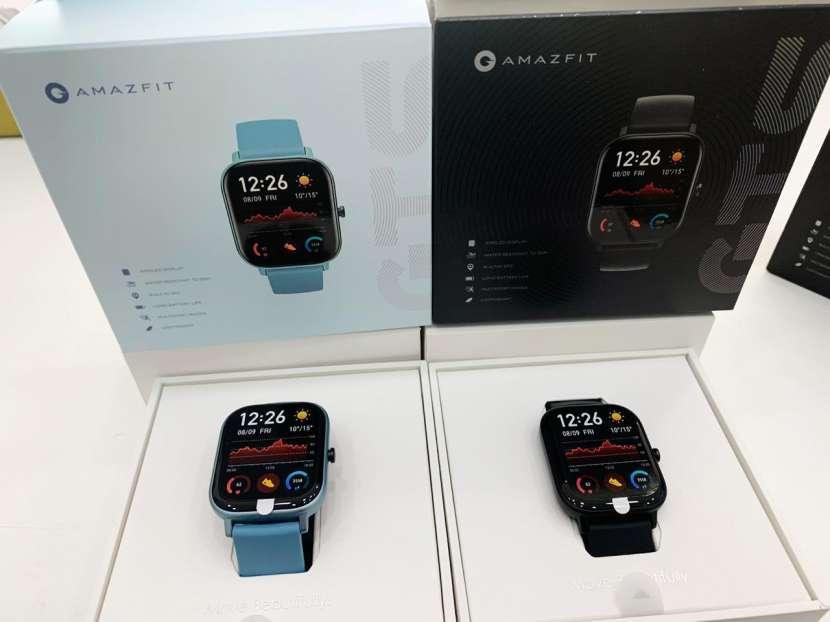 Reloj amazfit gts - azul - negro - 0