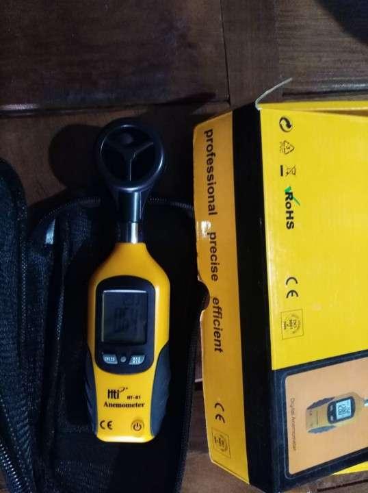 Termómetro de globo y bulbo húmedo WBGT y anemómetro de aspa - 5