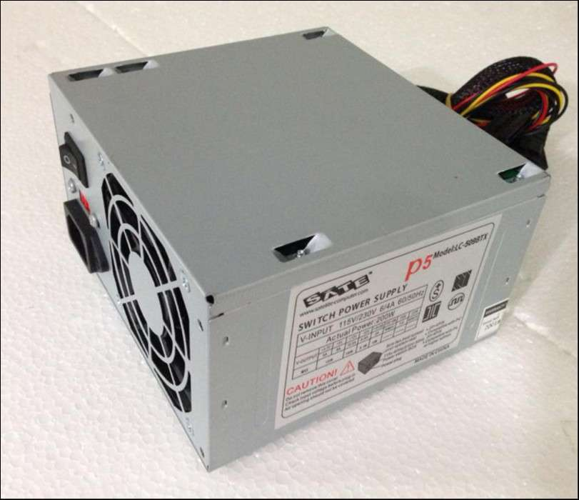 Fuente de alimentación para PC Satellite P5 LC-509BTX 200W - 0
