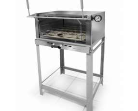 Horno pizzero a gas metvisa flgg70mm