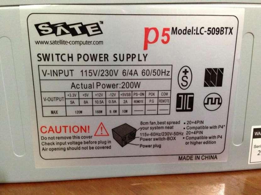 Fuente de alimentación para PC Satellite P5 LC-509BTX 200W - 3