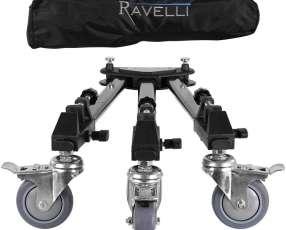 Trípode Dolly profesional Ravelli ATD para cámara