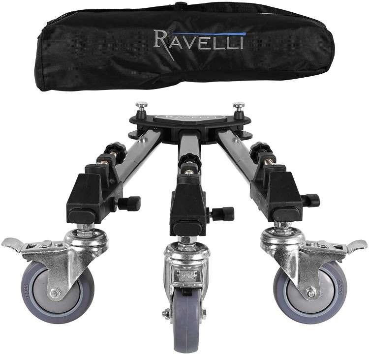 Trípode Dolly profesional Ravelli ATD para cámara - 0