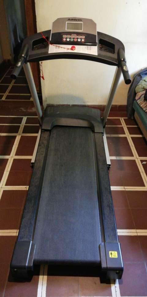 Caminadora Athletic hasta 120 kilos - 0