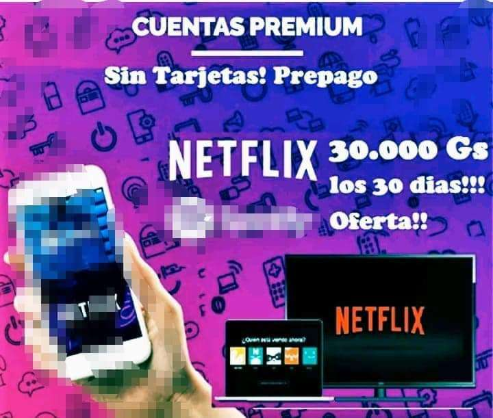 Cuentas Netflix - 0