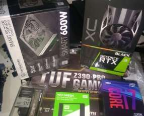 Pc gaming i7-9700/16gb/2060