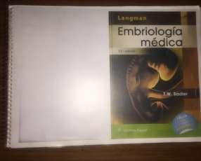 Libro de Embriología Langman