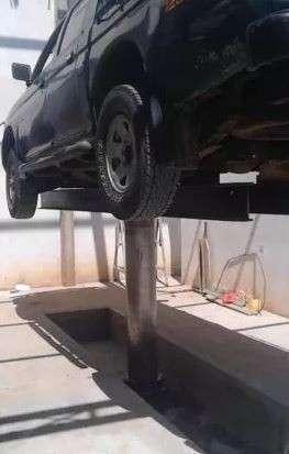 Elevador para vehículo para lavadero - 0