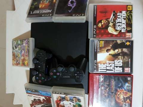 PlayStation 3 Slim De 320 GB - 0