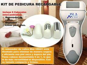 Kit de pedicura recargable 5 en 1