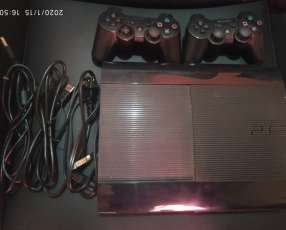 Playstation 3 slim con 80 juegos