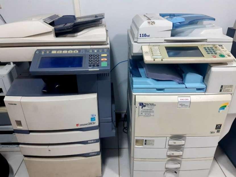 Impresora Fotocopiadora Marca Ricoh Mp C2800, Toshiba studio - 0