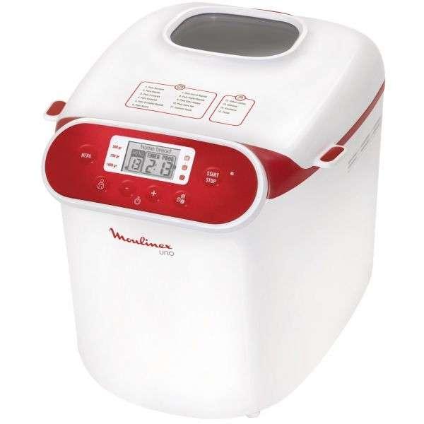 Maquina de hacer pan moulinex - 0