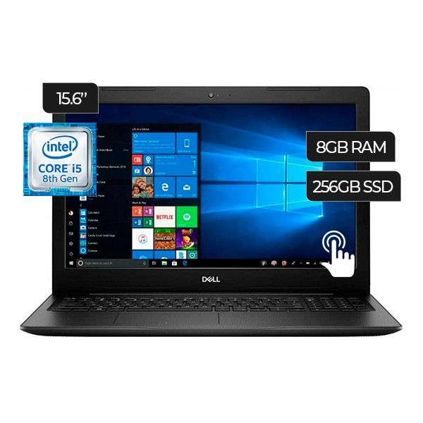 Notebook Dell i5 Touch. Adquirila en cuotas! - 0