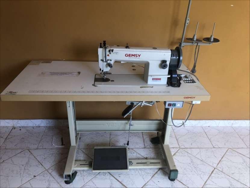 Máquina para coser cuero - 0