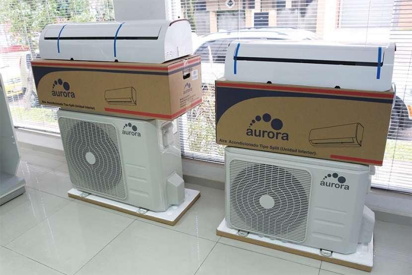 Aire acondicionado split aurora 18.000 btu - 1
