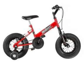 Bicicleta big fat infantil ultra bikes rojo