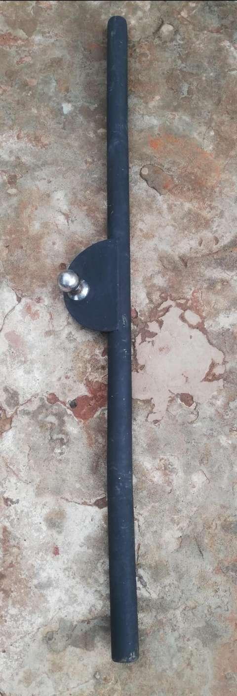 Paragolpe de hierro con tira trailer - 1