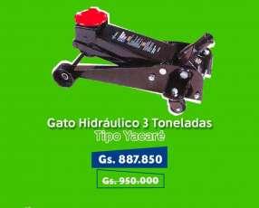 Gato hidraulico de 3toneladas tipo yacare