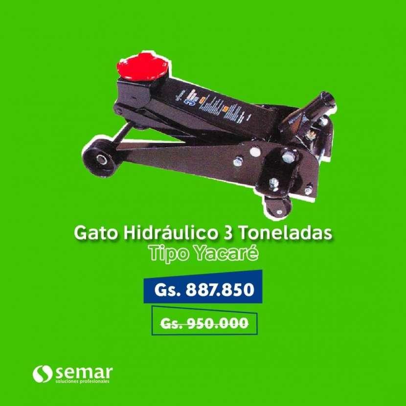 Gato hidraulico de 3toneladas tipo yacare - 0