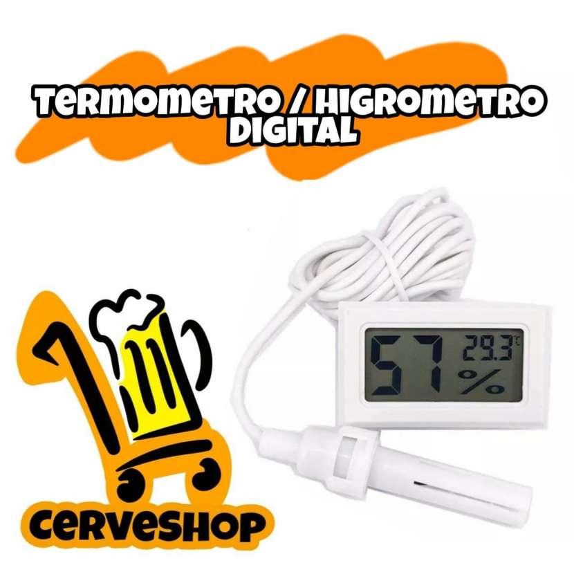 Termómetro / Higrómetro Digital - 0