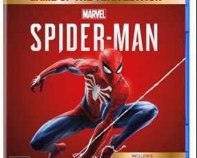 Juego para ps4 spiderman edición