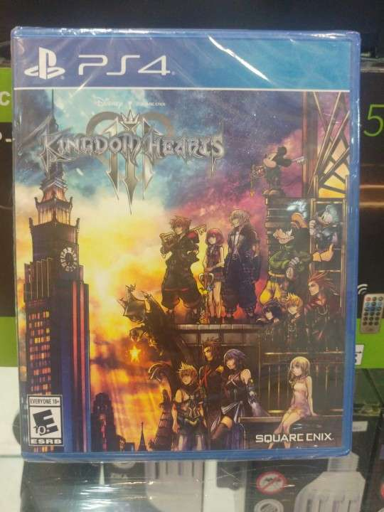 Juego para ps4 kingdom hearts 3 - 0