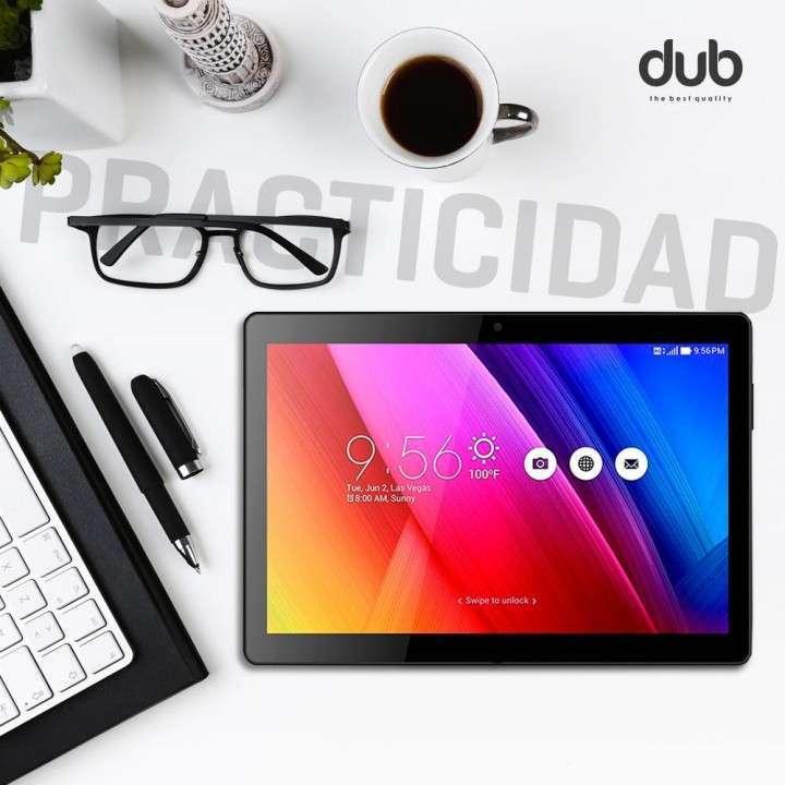 Tablet Dub 10 pulgadas con chip carcasa de metal - 2