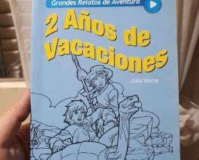 Libro 2 años de vacaciones