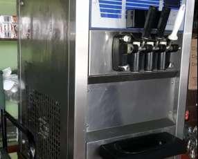 Máquinas soft 3 picos para hacer helado