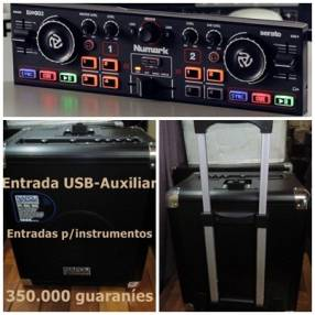 Equipo de audio amplificado