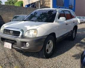 Hyundai santa fe 2003 color blanco