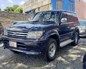 Toyota land cruiser prado 1997 color azul