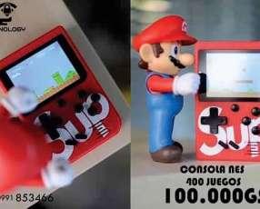 Mini consola Con 400 juegos