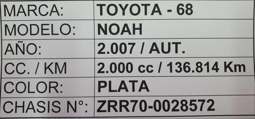 Toyota Noah 2007 motor 2.0 naftero automático 4x2 - 7