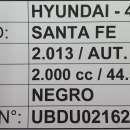 Hyundai Santa Fe 2013 motor 2.0 diésel automático secuencial 4x2 - 7