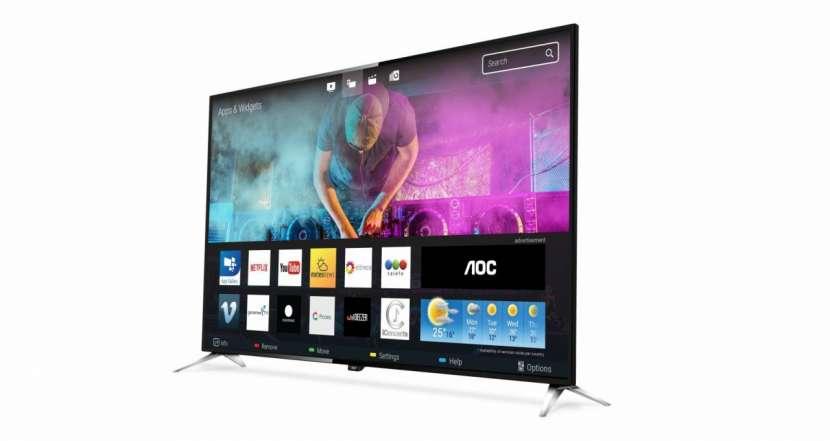 Tv aoc 50'' le50u7970 uhd 4k/usb/hdmi/digital/smar - 0