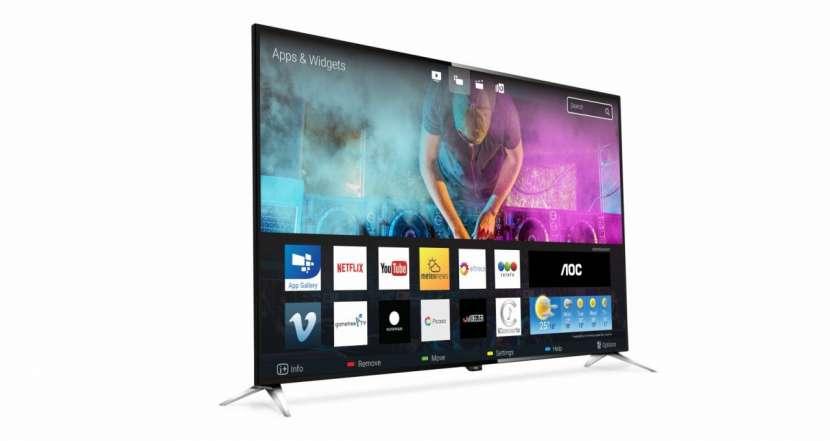 Tv aoc 50'' le50u7970 uhd 4k/usb/hdmi/digital/smar - 1