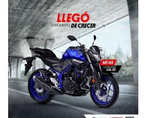 Moto Yamaha MT 03 0km