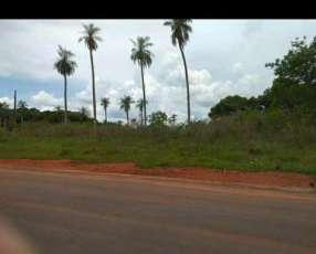 Terreno en Itauguá sobre asfalto