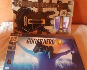 Guitarra de Guitar Hero para ps3 y ps4