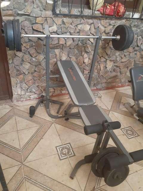 Equipo completo para gimnasio - 1