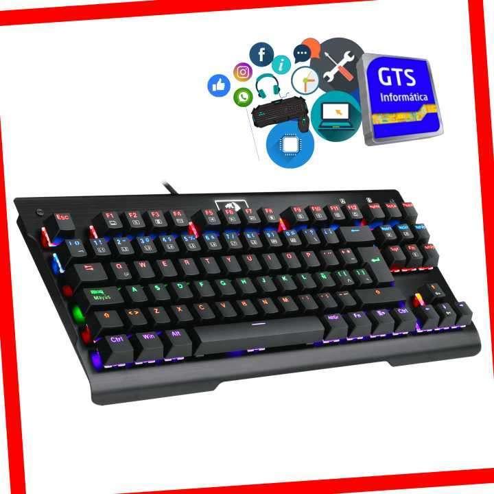 Teclado para Juegos mecánico Redragon K561-RGB - 1