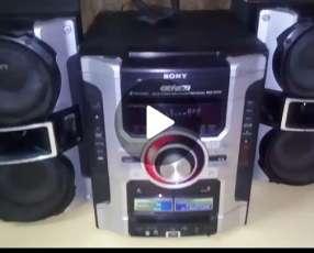 Equipo de sonido Sony Genezi gt22 4400wtz