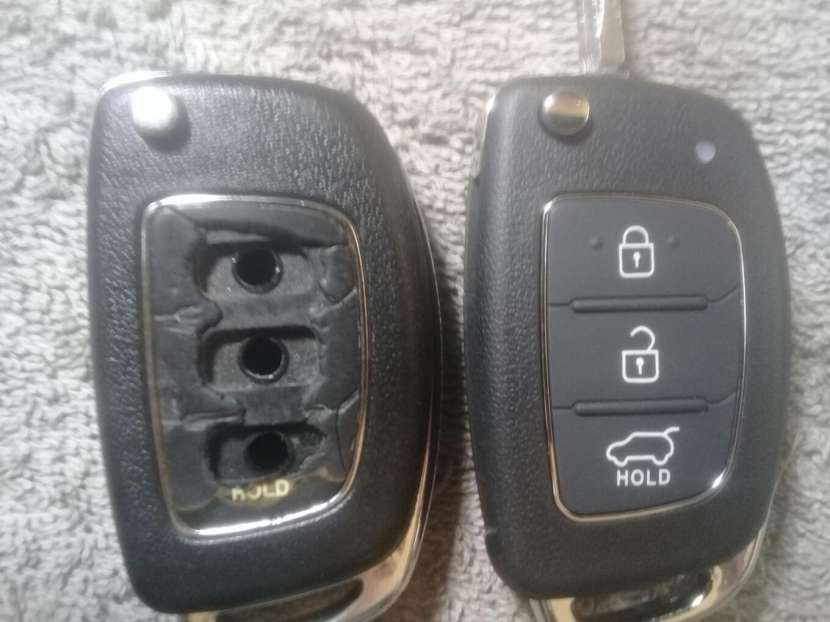 Carcasa de control remoto Hyundai Tucson 2014 - 6